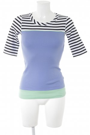 Marc Cain T-Shirt Streifenmuster Casual-Look