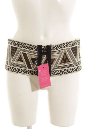 Marc Cain Waist Belt abstract pattern Aztec print