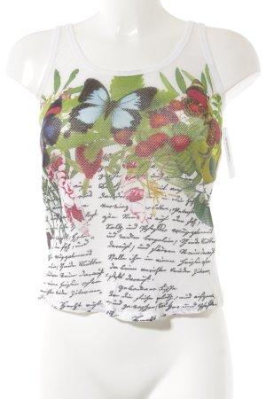Marc Cain Camiseta sin mangas estampado floral look casual