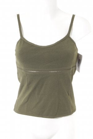 Marc Cain Tank Top olive green casual look