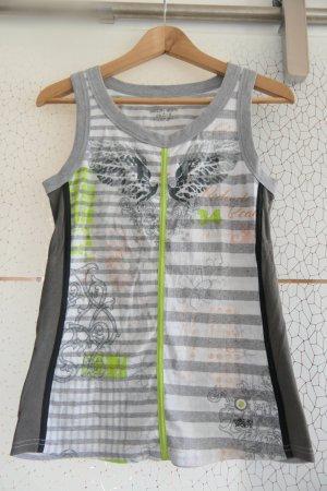 Marc Cain T-shirt de sport multicolore coton