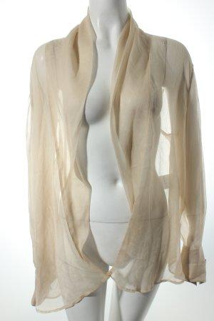 Marc Cain Transparenz-Bluse nude-creme Eleganz-Look