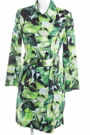 Marc Cain Trenchcoat florales Muster Casual-Look