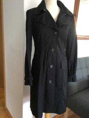 Marc Cain Trenchcoat schwarz Größe N3/38
