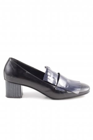 Marc Cain Loafer nero-blu scuro elegante