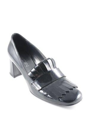 Marc Cain Loafers zwart elegant