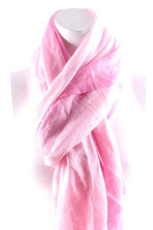 Marc Cain Châle rose-rose clair gradient de couleur style classique