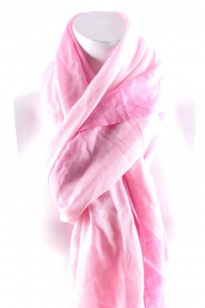 Marc Cain Tuch rosa-hellrosa Farbverlauf klassischer Stil