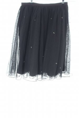 Marc Cain Tulle Skirt black casual look