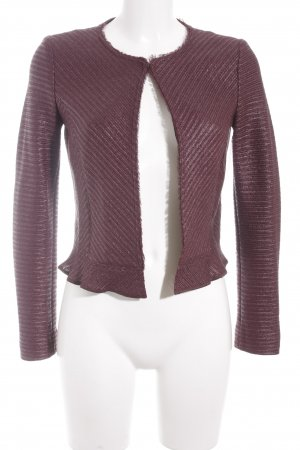 Marc Cain Tweedblazer purpur Business-Look