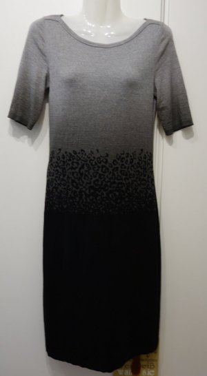 Marc Cain Twin Set Kleid + Cardigan Gr.S (36) Wolle Business Clean Chic Layering