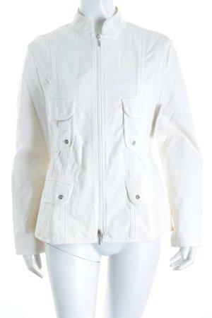 Marc Cain Übergangsjacke weiß Street-Fashion-Look