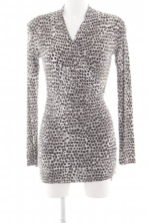 Marc Cain V-Neck Shirt graphic pattern extravagant style