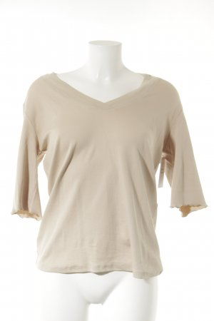 Marc Cain V-Ausschnitt-Shirt creme Casual-Look