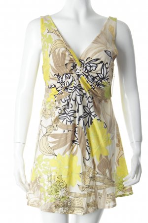 Marc Cain V-Ausschnitt-Shirt florales Muster