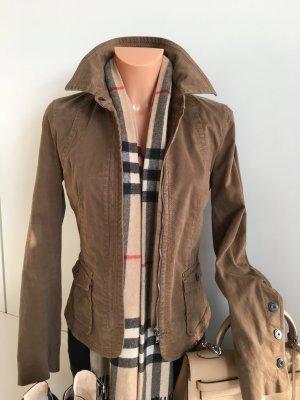 Marc Cain Vintage Look Jacke Jacket Blazer Gr. 36 Braun