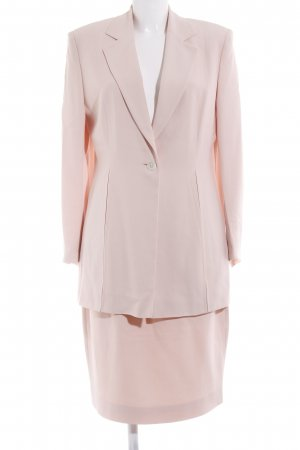 Marc Cain Woven Twin Set dusky pink business style