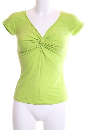 Marc Cain Wraparound Shirt green casual look