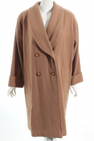 Marc Cain Wintermantel camel Street-Fashion-Look