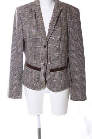 Marc Cain Blazer in lana motivo a quadri stile professionale