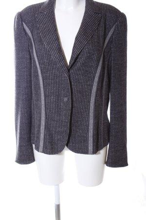 Marc Cain Blazer in lana grigio chiaro stampa integrale stile professionale