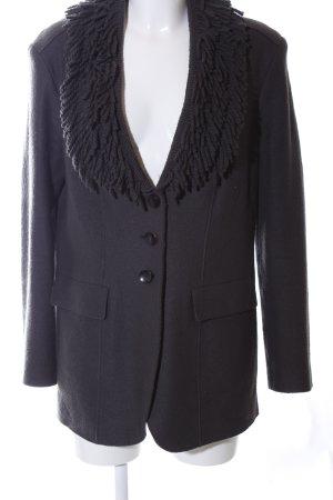 Marc Cain Blazer de lana negro elegante