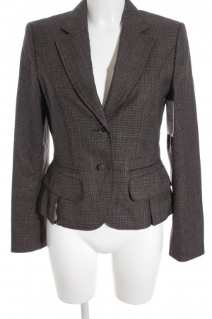 Marc Cain Wool Blazer light brown-dark brown color gradient classic style