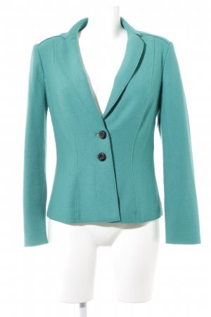 Marc Cain Wool Blazer cadet blue casual look