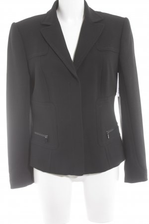 Marc Cain Wool Blazer black business style