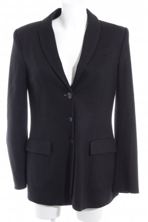 Marc Cain Woll-Blazer schwarz Business-Look