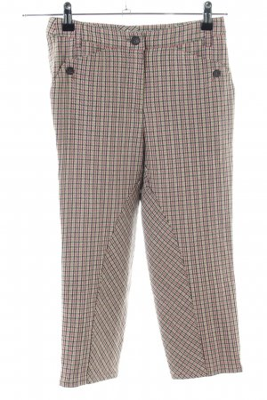 Marc Cain Woolen Trousers allover print business style
