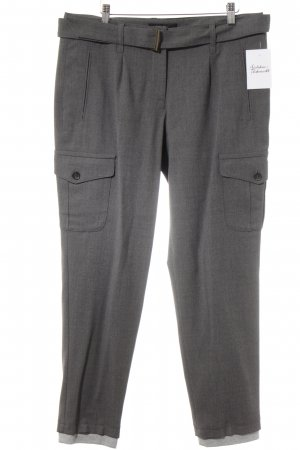 Marc Cain Wollhose grau meliert Business-Look