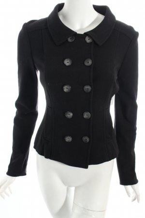 Marc Cain Wolljacke schwarz Casual-Look