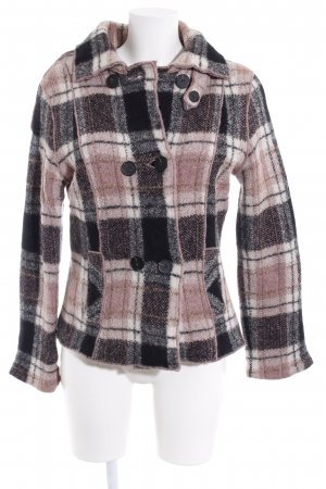 Marc Cain Wollmantel Karomuster Casual-Look
