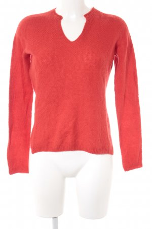 Marc Cain Wollpullover rot Casual-Look