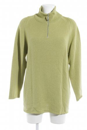 Marc Cain Wool Sweater meadow green casual look