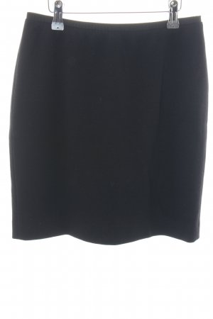 Marc Cain Wool Skirt black business style