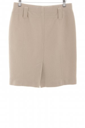 Marc Cain Wool Skirt beige casual look
