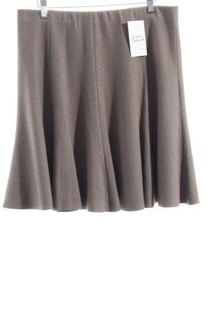 Marc Cain Wollrock graubraun minimalistischer Stil