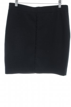 Marc Cain Wollen rok zwart elegant