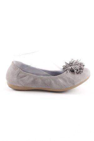 MARC faltbare Ballerinas grau Casual-Look
