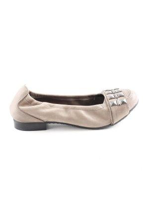 MARC faltbare Ballerinas graubraun Casual-Look