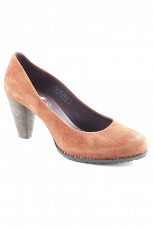 MARC High Heels cognac-dunkelbraun Casual-Look