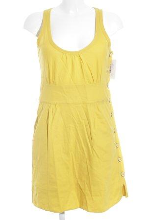 Marc Jacobs A-Linien Kleid dunkelgelb Casual-Look