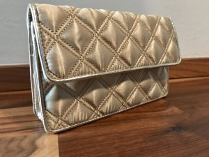 MARC JACOBS Abendtasche in Silber/Gold