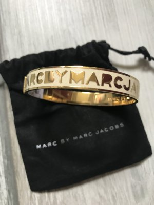 Marc by Marc Jacobs Bangle gold-colored stainless steel