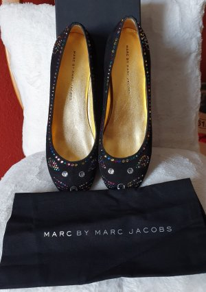Marc by Marc Jacobs Slingback ballerina's zwart
