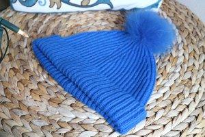 Marc Jacobs Casquette bleu fluo