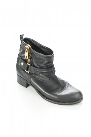 Marc Jacobs Boots schwarz Biker-Look