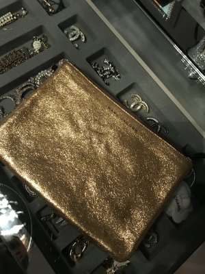 Marc Jacobs Clutch , Gold , fast neue